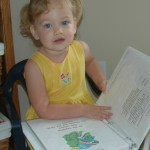 2 Year Old with Joyful Heart Binder