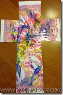 marble paint cross 1