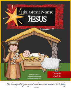 His Great Name: Jesus (Volume 1)